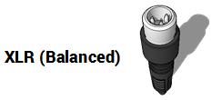 XLR mic plug