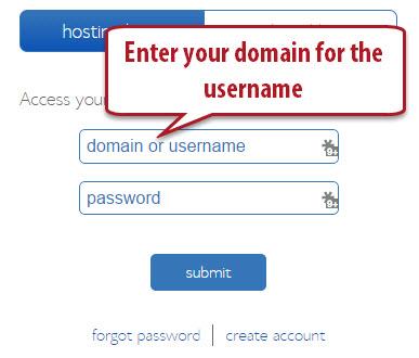 Domain Login